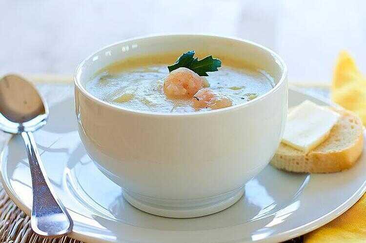 1-68 Суп из креветок и трески