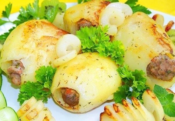 4-22 Фаршированный картофель