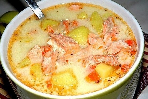 1-120 Финский суп с лососем и сливками