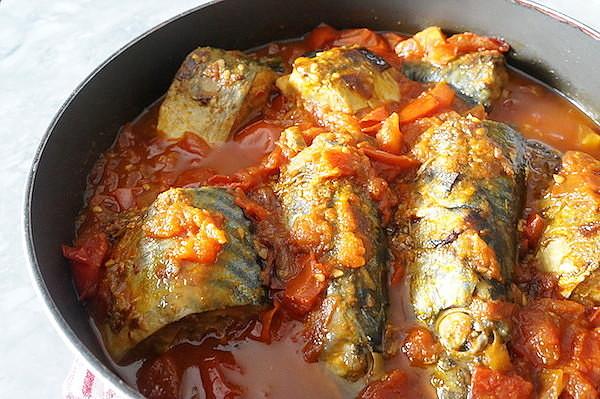 1-69 Скумбрия в томатном соусе