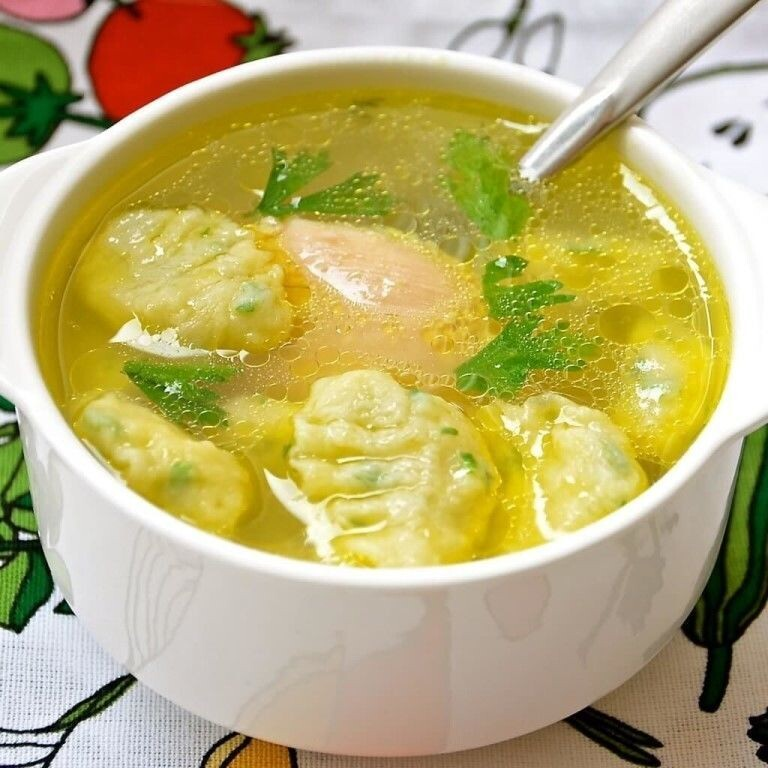 1-60 Суп с галушками