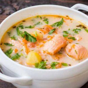 1-21-300x300 Финский суп с лососем и сливками
