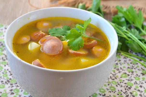 1-79 Быстрый суп с сосисками