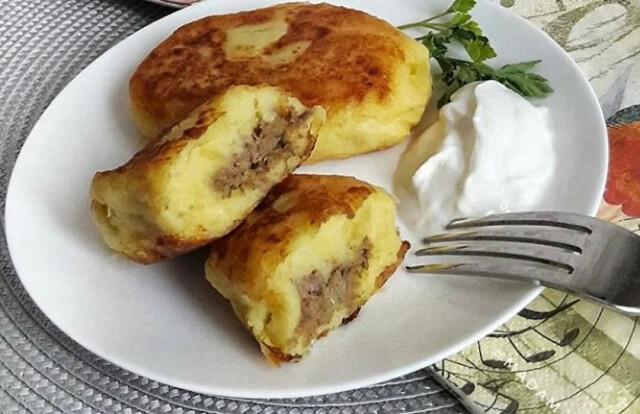 1-16 Картофельные зразы с печенью