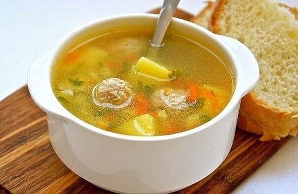 1-56 Суп с фрикадельками