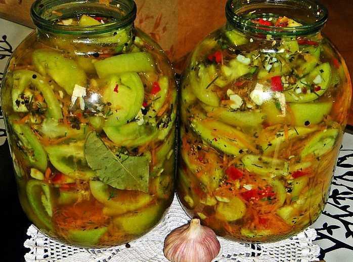 1-76 Салат из зеленых помидор