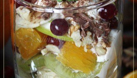 Фруктовый десерт (1 порция)