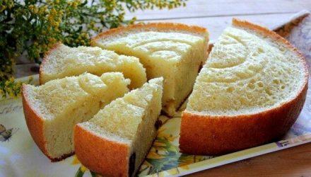 манно-яблочный пирог