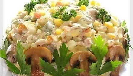 Топ-10 обалденных и вкусных салатов: